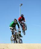 участвовать в гонке креста bike Стоковая Фотография
