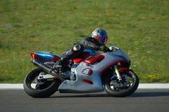 участвовать в гонке мотовелосипеда стоковое изображение rf