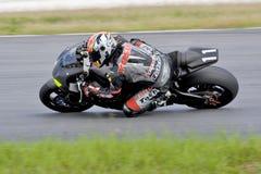 участвовать в гонке мотоцикла moto gp Стоковое Изображение RF
