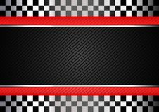 Участвовать в гонке предпосылка striped чернотой Стоковое Изображение RF