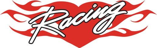 участвовать в гонке сердца Стоковые Фотографии RF