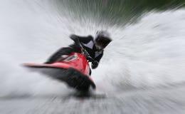участвовать в гонке сигнал женщин watercraft Стоковое Изображение RF
