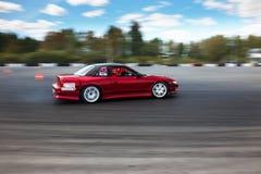 участвовать в гонке смещения автомобиля Стоковые Изображения RF