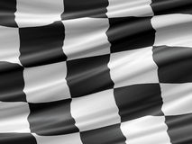 участвовать в гонке флага Стоковые Фото