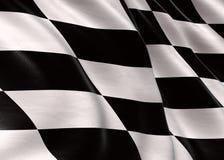 участвовать в гонке флага Стоковое Фото