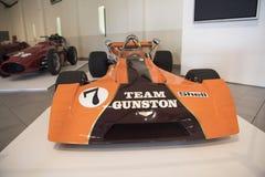 1 участвовать в гонке формулы автомобиля Стоковые Изображения