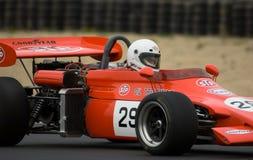 участвовать в гонке формулы 2 автомобилей Стоковое фото RF