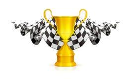 участвовать в гонке эмблемы Стоковые Фотографии RF