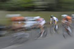 Участвовать в гонке для финишной черты Стоковое Изображение