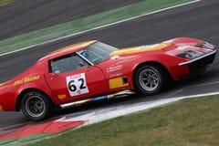 участвовать в гонке corvette Стоковые Фотографии RF