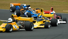 участвовать в гонке f5000 автомобилей классицистический Стоковые Изображения