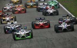 участвовать в гонке gp автомобиля a1 Стоковые Изображения
