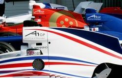 участвовать в гонке gp автомобиля a1 Стоковое Фото
