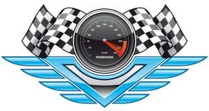 участвовать в гонке insignia иллюстрация вектора