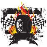 участвовать в гонке insignia Стоковое Изображение RF