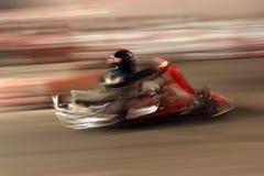 участвовать в гонке kart Стоковое Фото