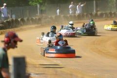участвовать в гонке kart i Стоковые Фото