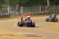 участвовать в гонке kart ii Стоковая Фотография