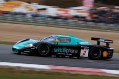участвовать в гонке maserati mc12 fia gt автомобиля Стоковое фото RF