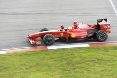 участвовать в гонке massa 2009 f1 felipe ferrari Стоковое Фото