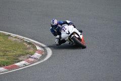 участвовать в гонке moto призрения Стоковое Изображение RF