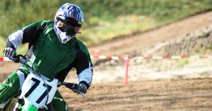 участвовать в гонке motox Стоковая Фотография RF