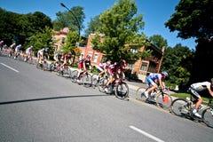 участвовать в гонке peloton Стоковая Фотография