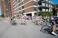 участвовать в гонке peloton Стоковое Фото