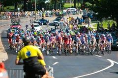 участвовать в гонке peloton Стоковая Фотография RF