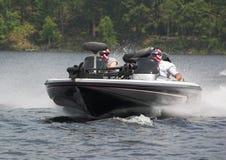 участвовать в гонке powerboat Стоковая Фотография