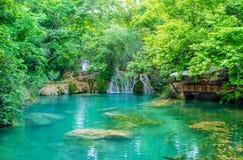 Участвовать в природном парке Kursunlu, Aksu, Турции Стоковые Изображения