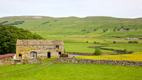Участки земли Yorkshire Стоковое фото RF
