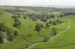 участки земли yorkshire Стоковая Фотография RF