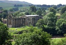 Участки земли Йоркшира аббатства Bolton Стоковое Фото