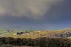 Участки земли Йоркшира стоковые изображения rf