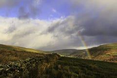 Участки земли Йоркшира Стоковое Фото