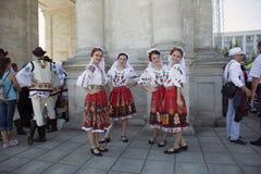 Участники концерта Стоковые Фото