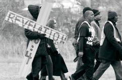 Участники марша Майкл Брайна Стоковое Изображение