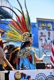 Участники маршируют в 34th ежегодный парад русалки на острове кролика Стоковое Изображение RF