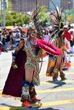 Участники маршируют в 34th ежегодный парад русалки на острове кролика Стоковая Фотография RF