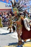 Участники маршируют в 34th ежегодный парад русалки на острове кролика Стоковое Фото
