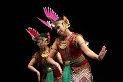 Участник дня танца мира от Ява Стоковые Изображения RF