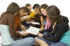 учащийся группы стоковое изображение