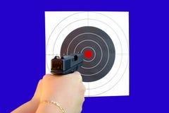 Учебная стрельба по мишеням Стоковые Фотографии RF
