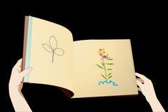 учебник чтения Стоковая Фотография RF