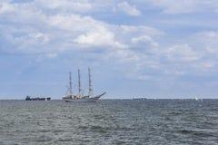 Учебное судно ветрила Стоковое Фото