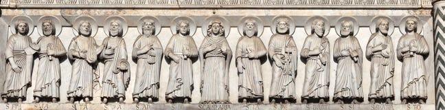 Ученики Христос Стоковое фото RF