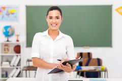 Учитель начальной школы стоковые фото
