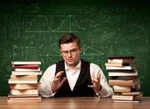 Учитель объясняя концепцию Стоковое Изображение