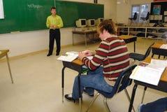 учитель средней школы Стоковые Изображения RF